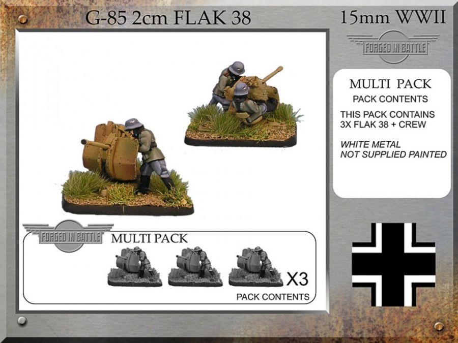 2cm Flak38 x3