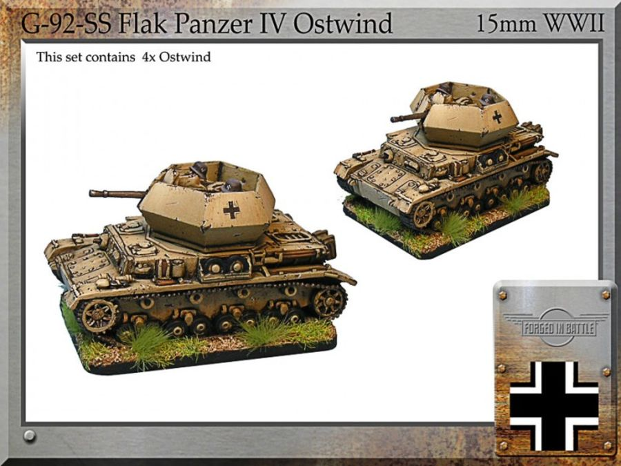 Flak.Panzer IV Ostwind