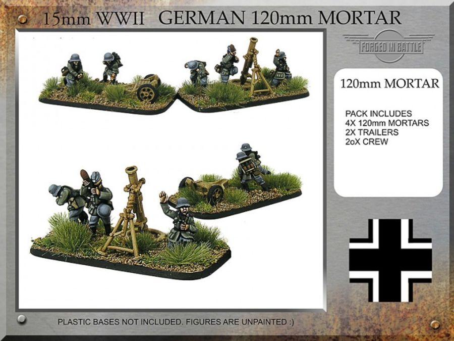 German 120mm Mortar Teams
