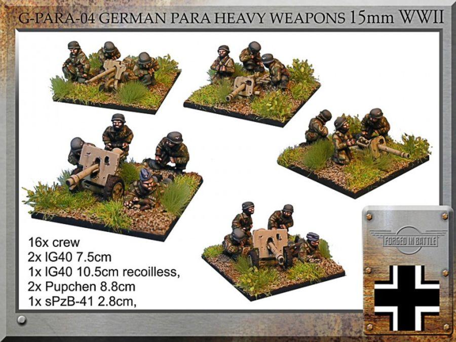 German Para Hv.Wpns