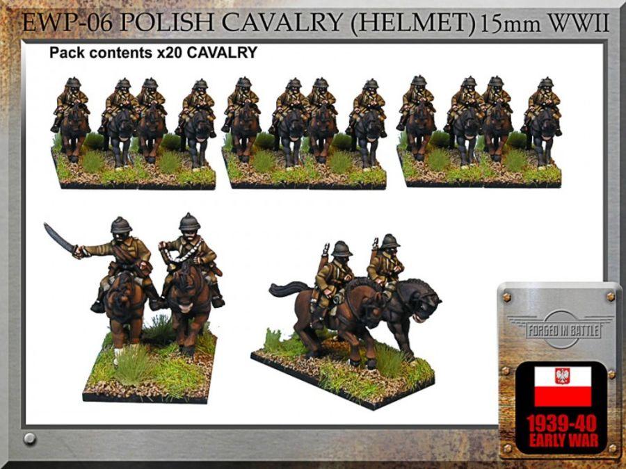 Polish Cav. Mtd. (helmet)