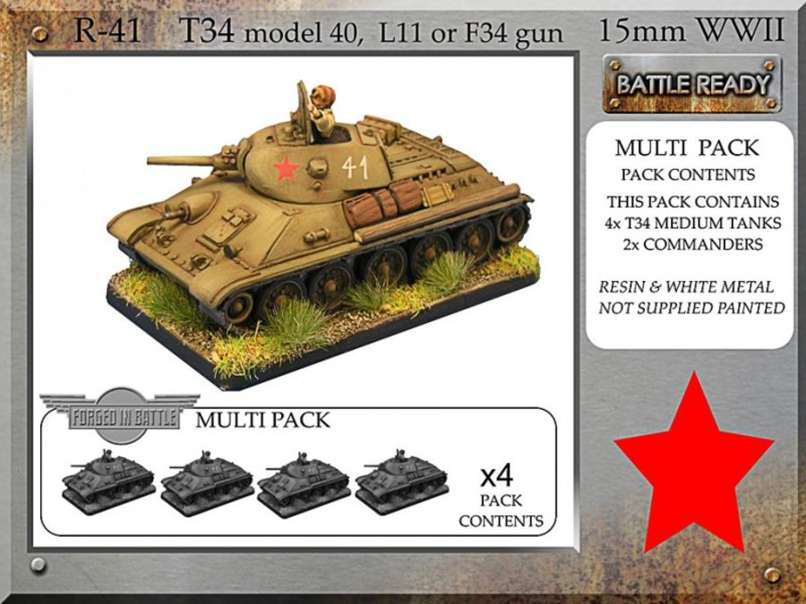 T-34 m40 L11 or F34 x 4