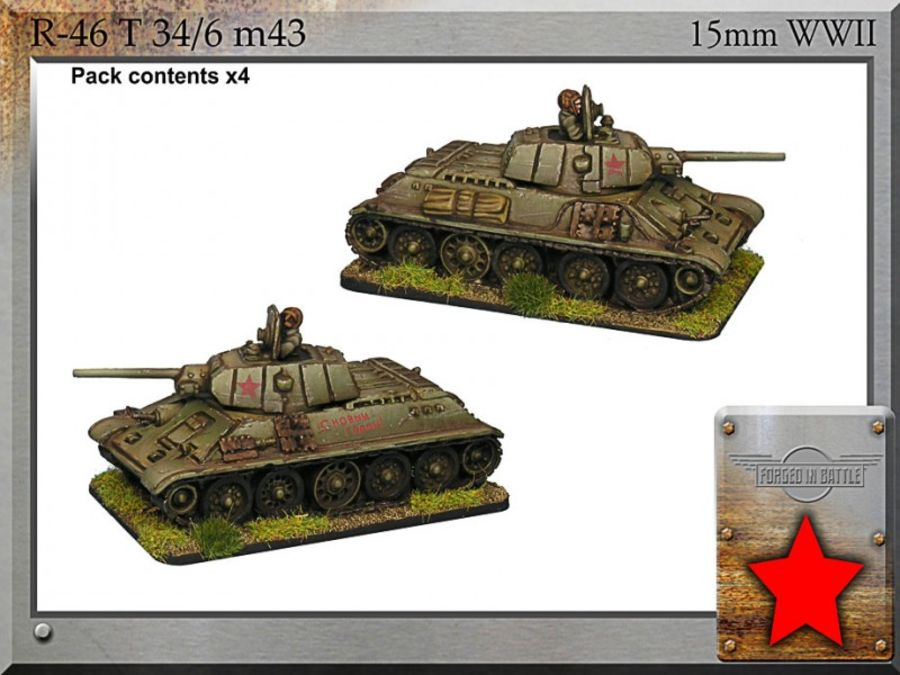T-34/76 m43 (3x fuel tanks)