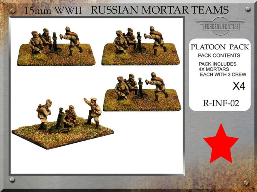 Russian 81mm Mortar Teams