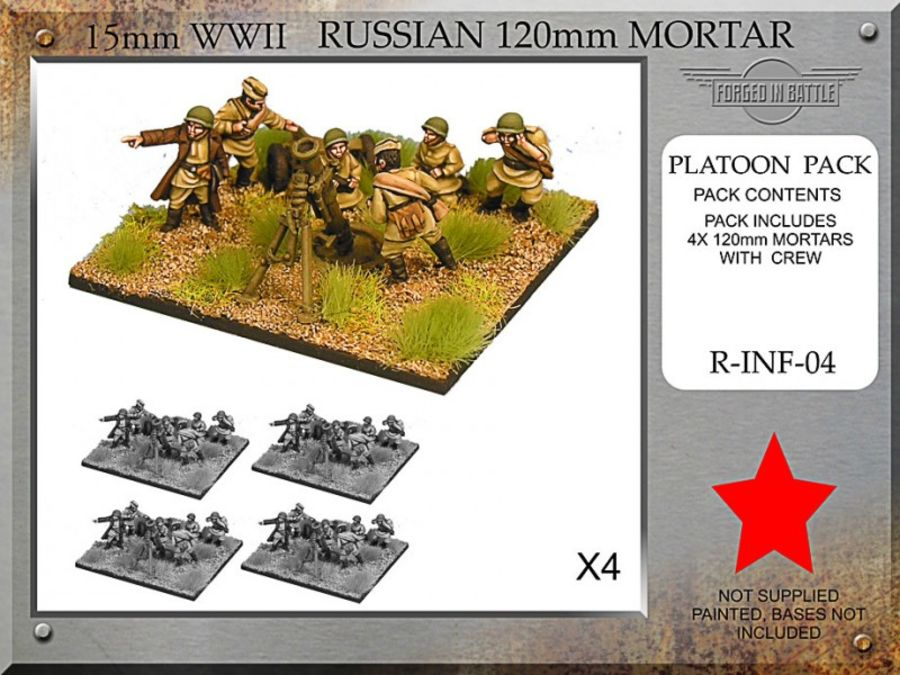 Russian 120mm Mortar Platoon