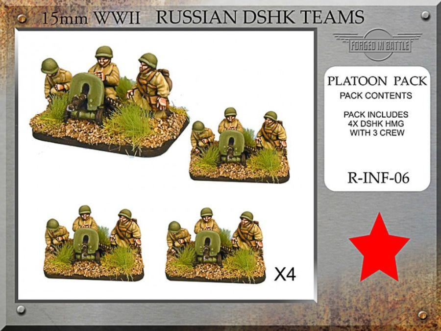 Russian Dshk HMG Teams