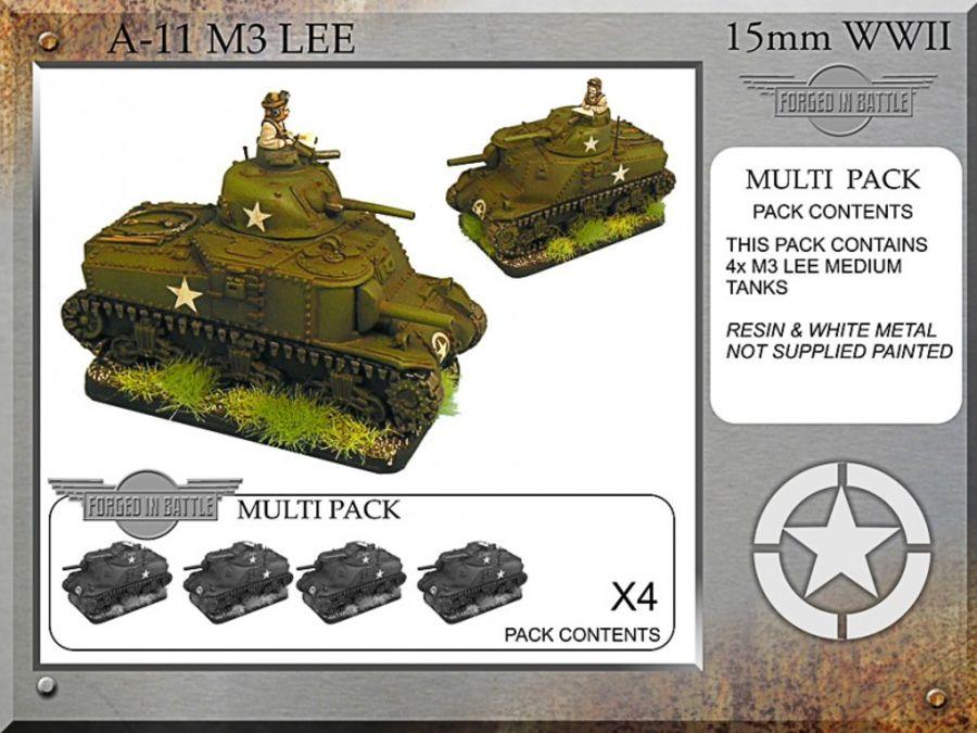 M3 Lee x 4