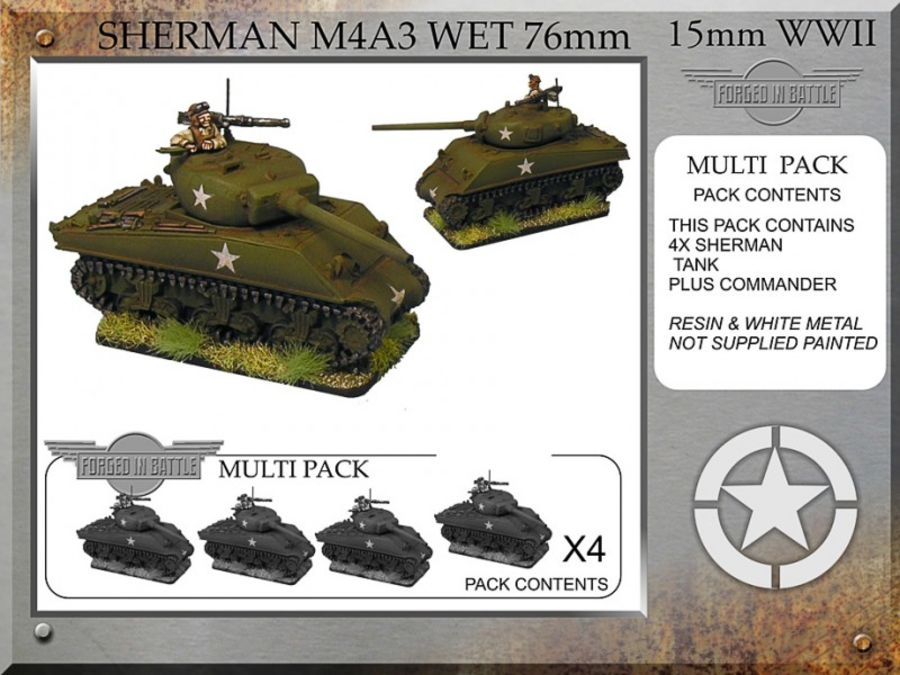 Sherman M4A3 wet 76mm x 4