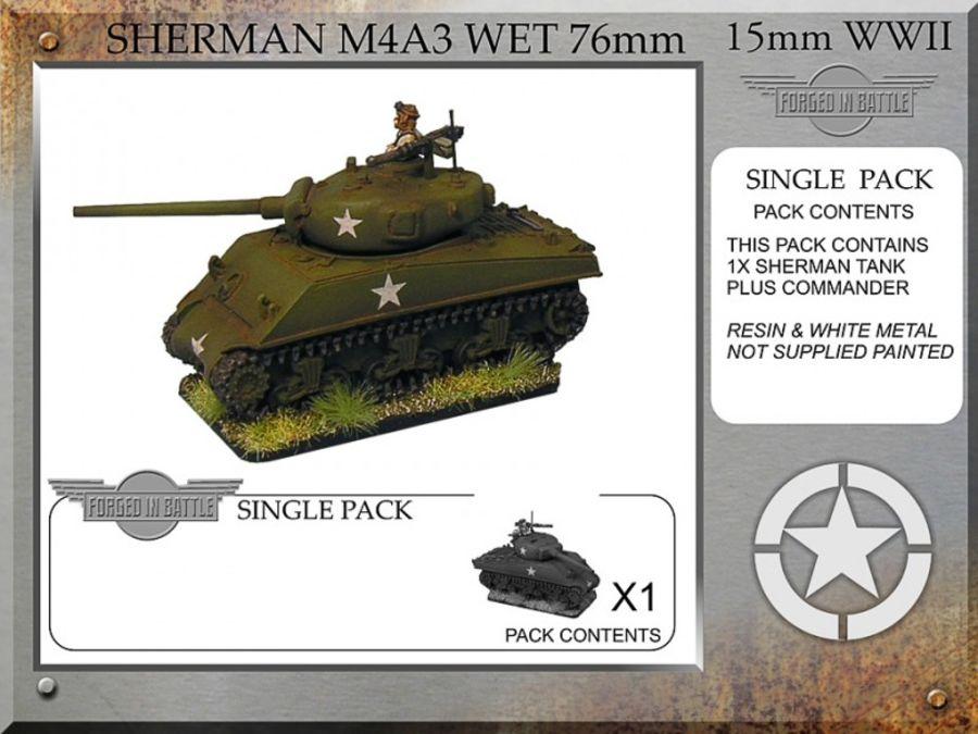 Sherman M4A3 wet 76mm x 1
