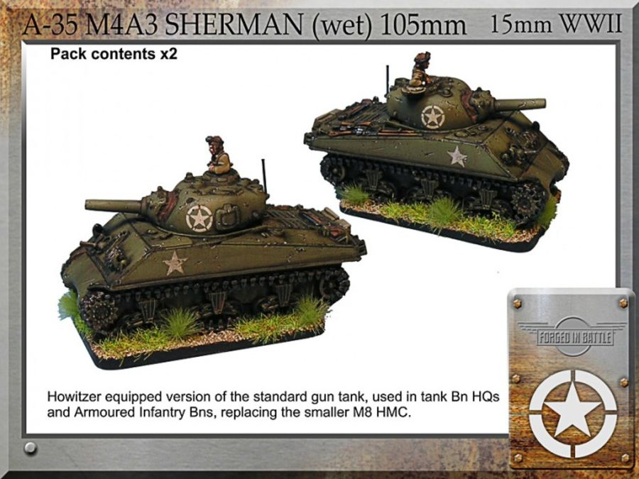 M4A3 Sherman (wet) 105mm