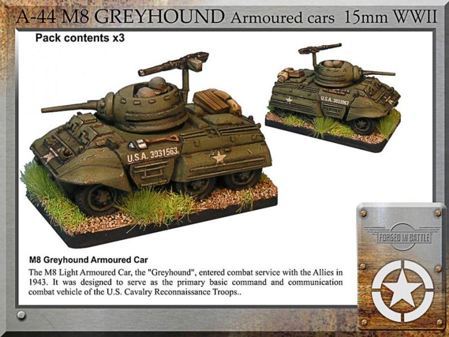 M8 Greyhound a/c x3