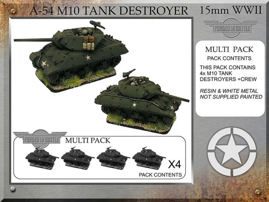 M10 76mm Tank Destroyer x4