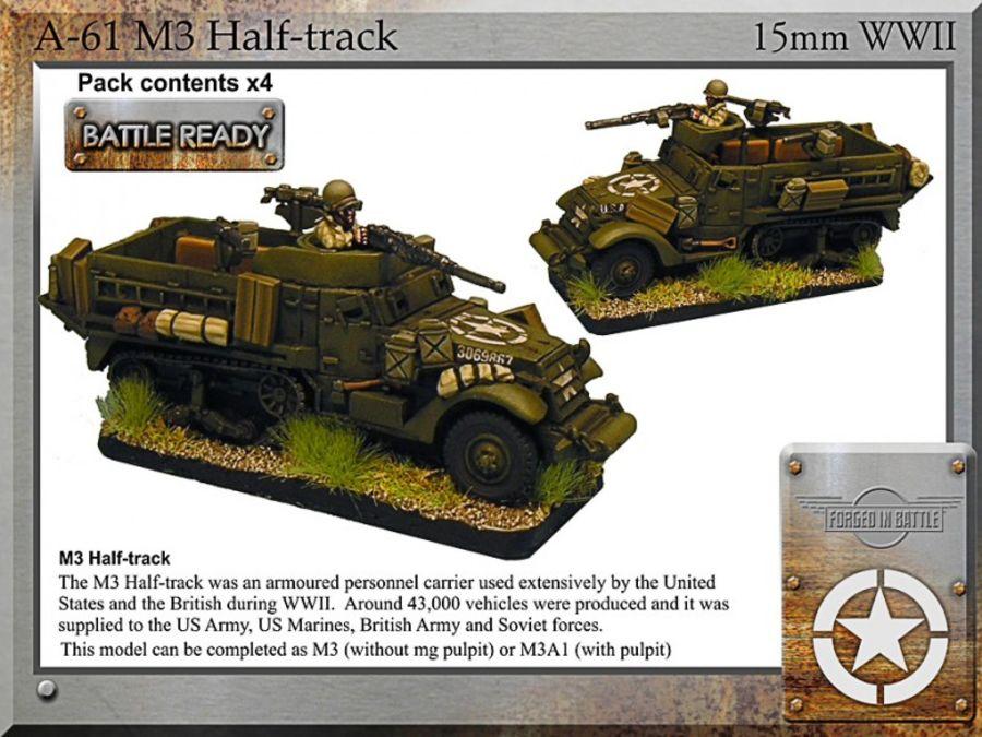 M3 halftrack x4