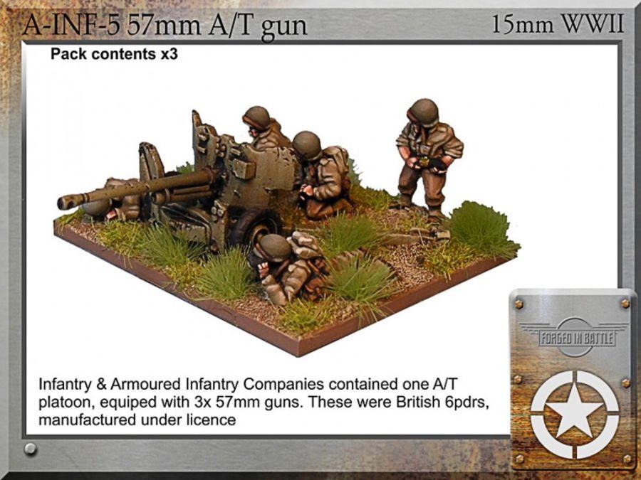 57mm A/T gun