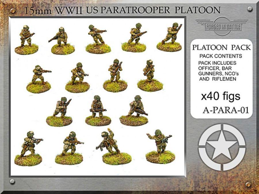 US Paratrooper Platoon