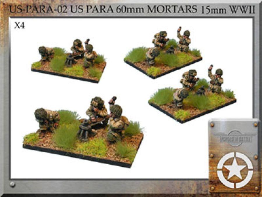 US Para 60mm Mortars