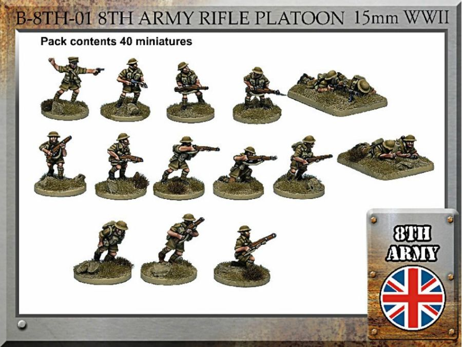 8th Army British Rifle Platoon