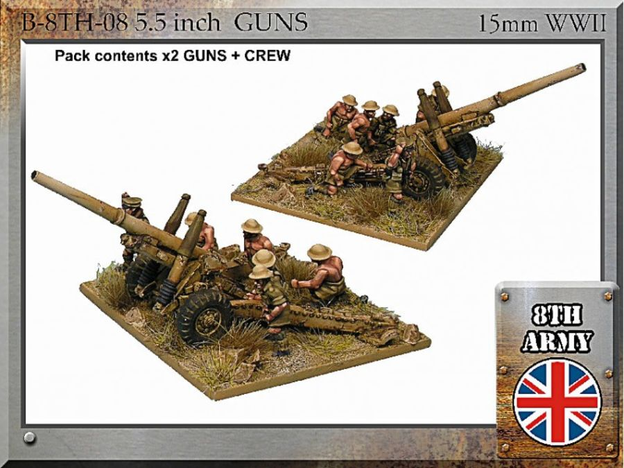8th Army Brirish 5.5