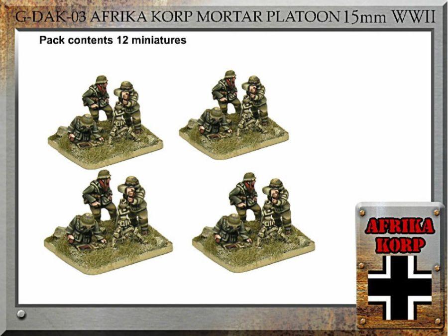 Afrika Korps  8cm GrW.34 Mortar Teams