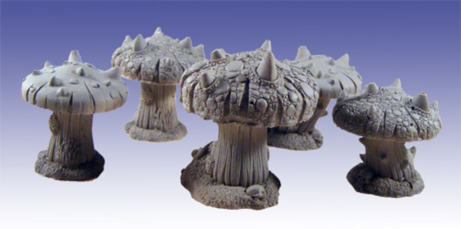 Dragon's Horn Fungi