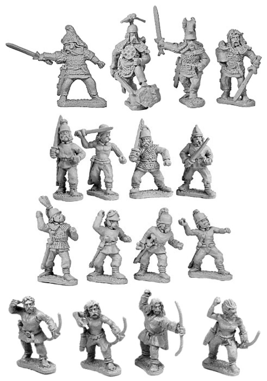 Barbarian Scout Warband