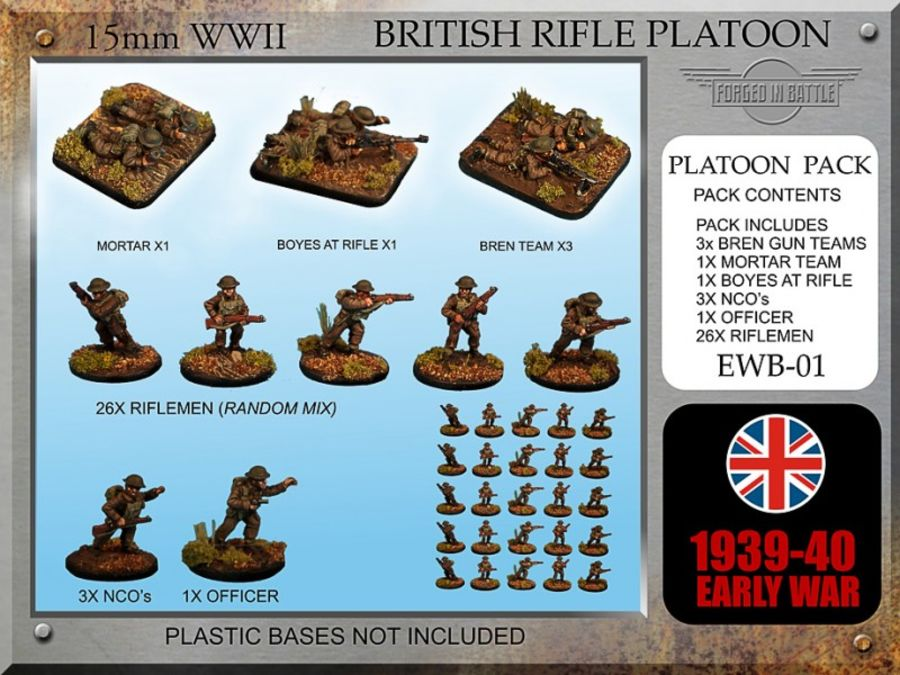 Early War British Rifle Platoon