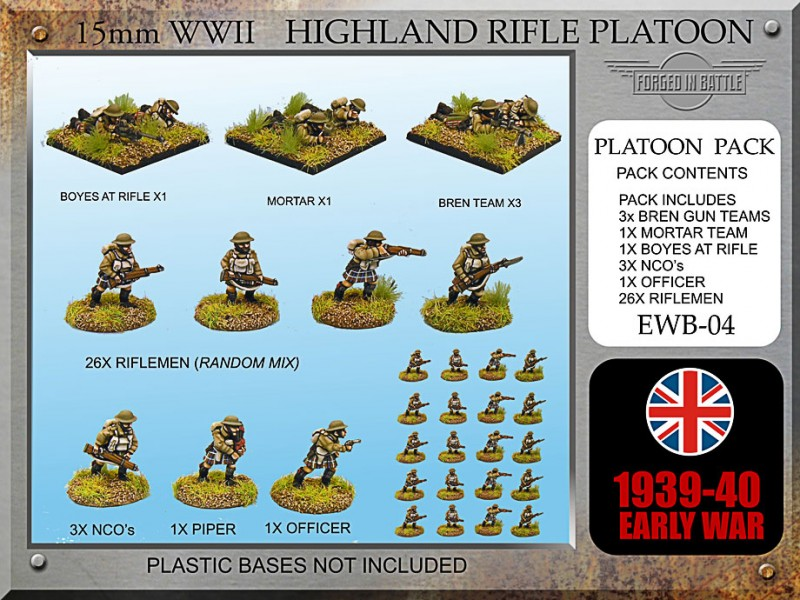 Early War Highland Platoon