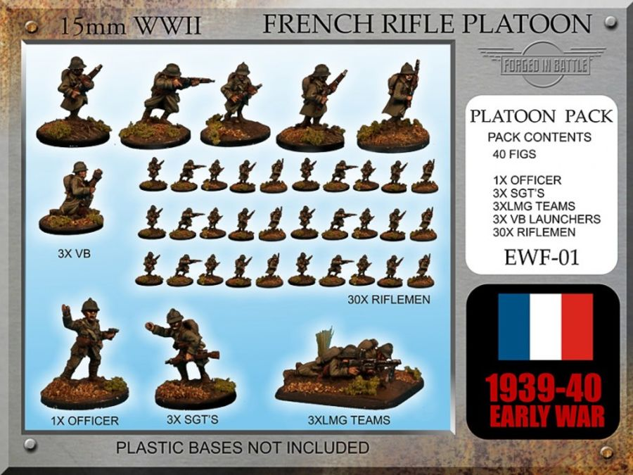 Early War French Rifle Platoon