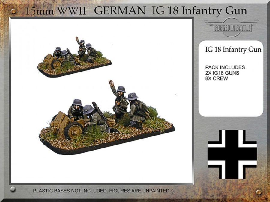 German 7.5cm IG18