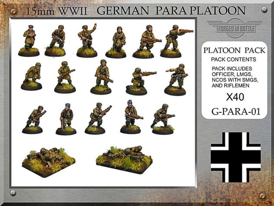 German Paratrooper Platoon