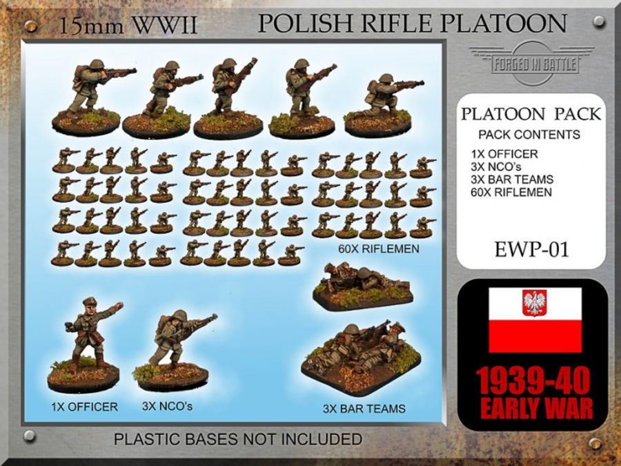 Early War Polish Rifle Platoon