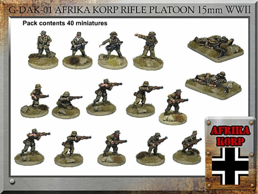 Afrika Korps  Infantry Platoon