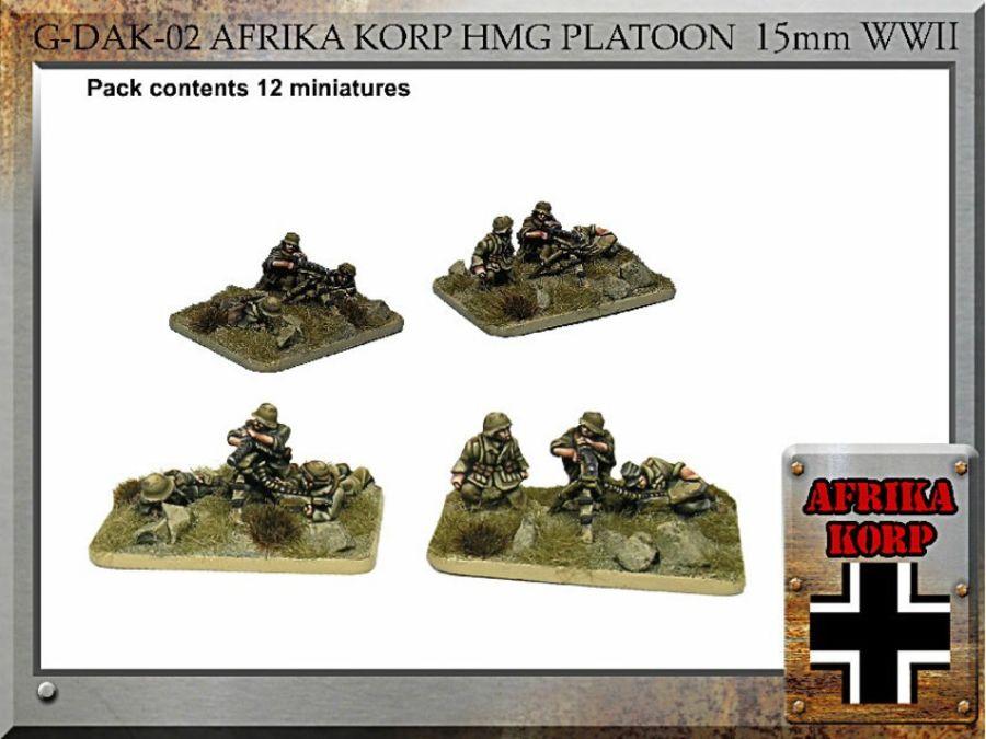 Afrika Korps  HMG Platoon