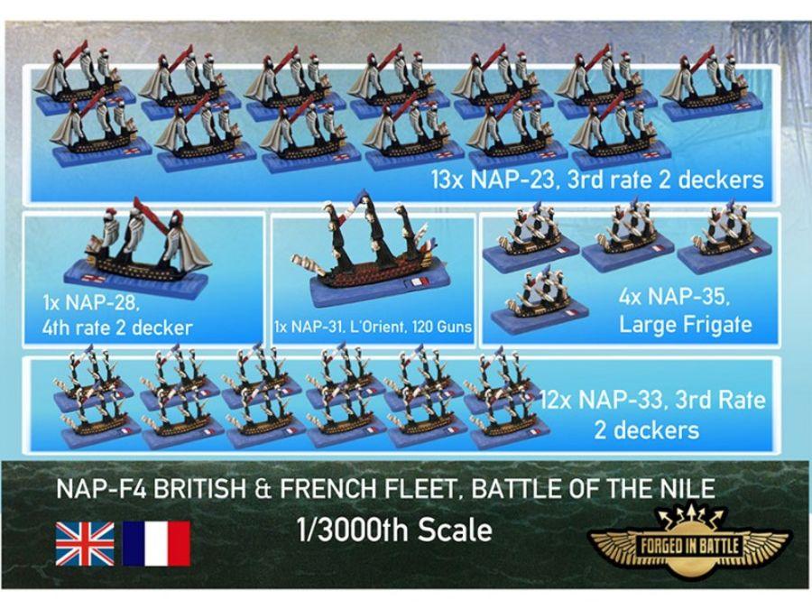 Battle of the Nile Fleets Set