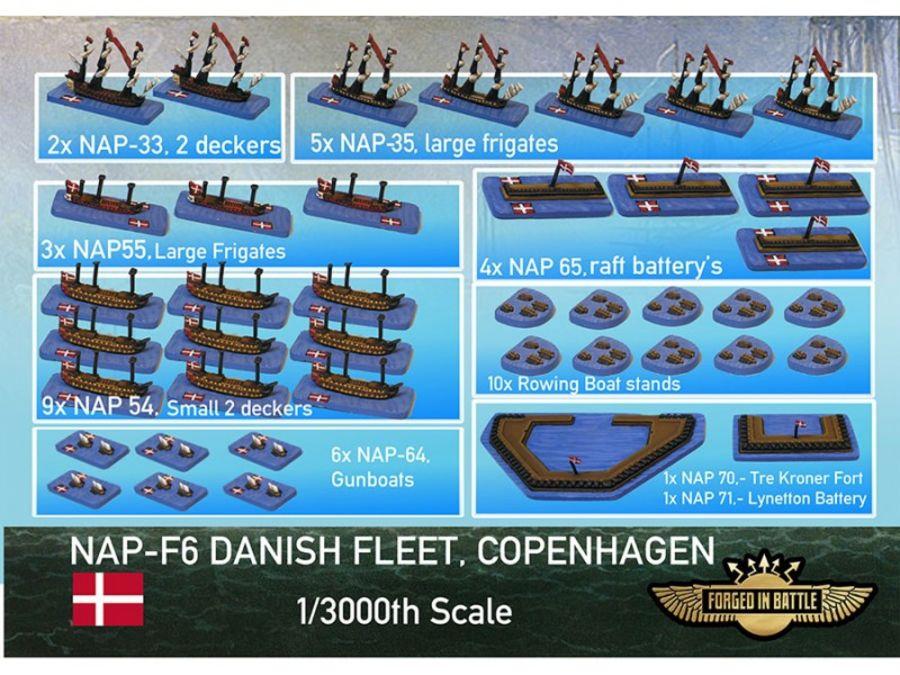 Battle of Copenhagen Danish Fleet
