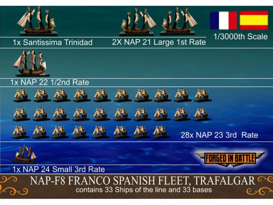 Battle of Trafalgar Franco Spanish Fleet