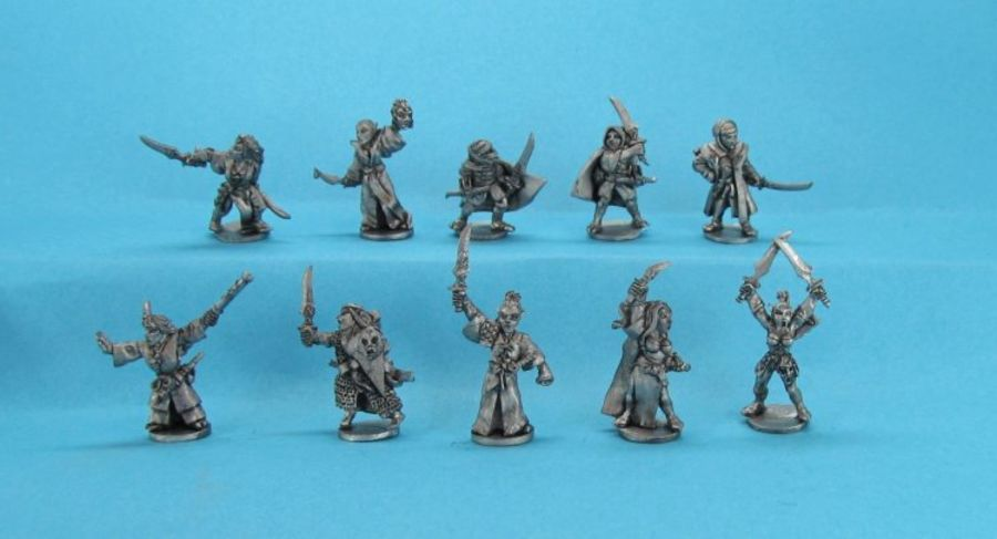 Dark Elf Defilers Warband
