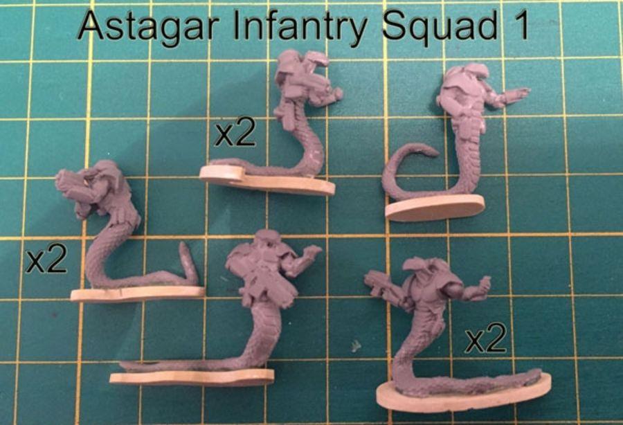 Astagar Infantry Squad #1