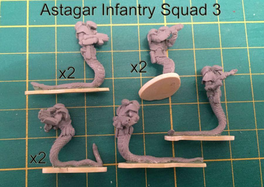 Astagar Infantry Squad #3