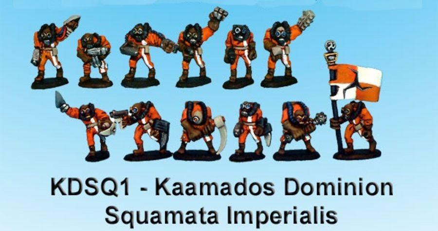 Kaamados Squamata Imperialis #1