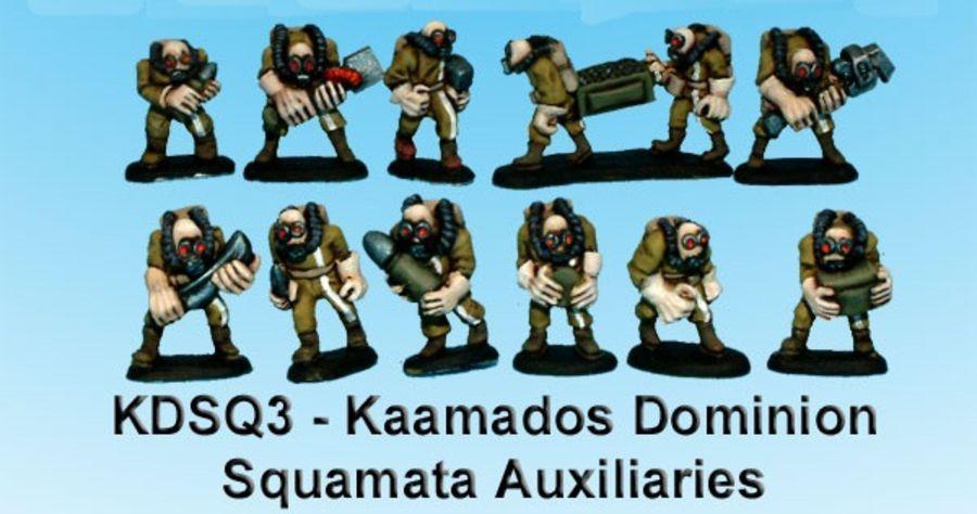 Kaamados Squamata Auxiliaries