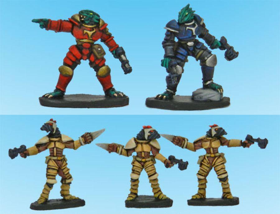 Kaamados Naga Commanders