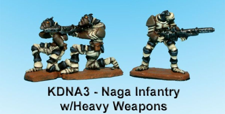 Kaamados Naga Infantry w/Heavy Weapons