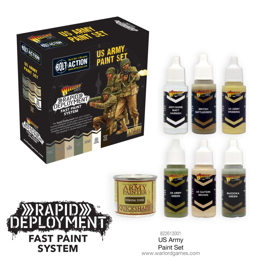 WWII US Paint Set