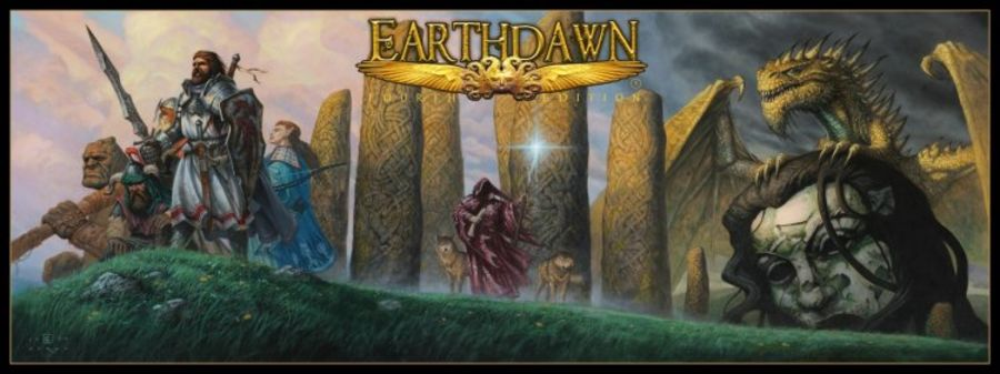 Earthdawn GM Screen 4th Ed