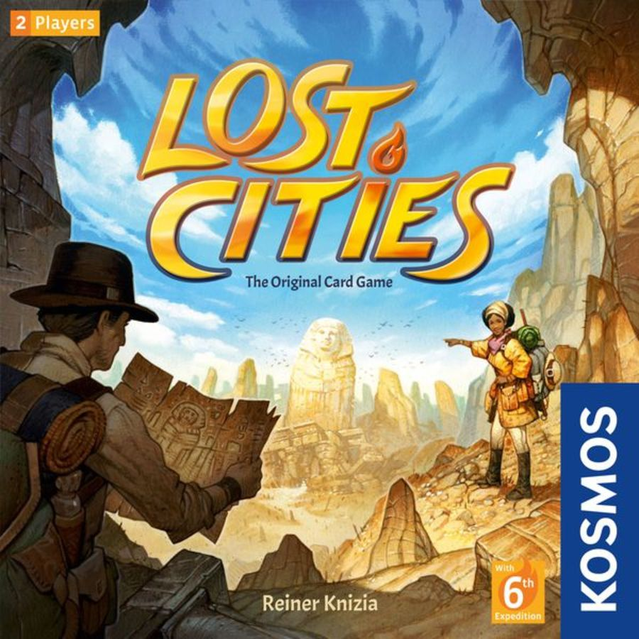 Lost Cities - Card Game
