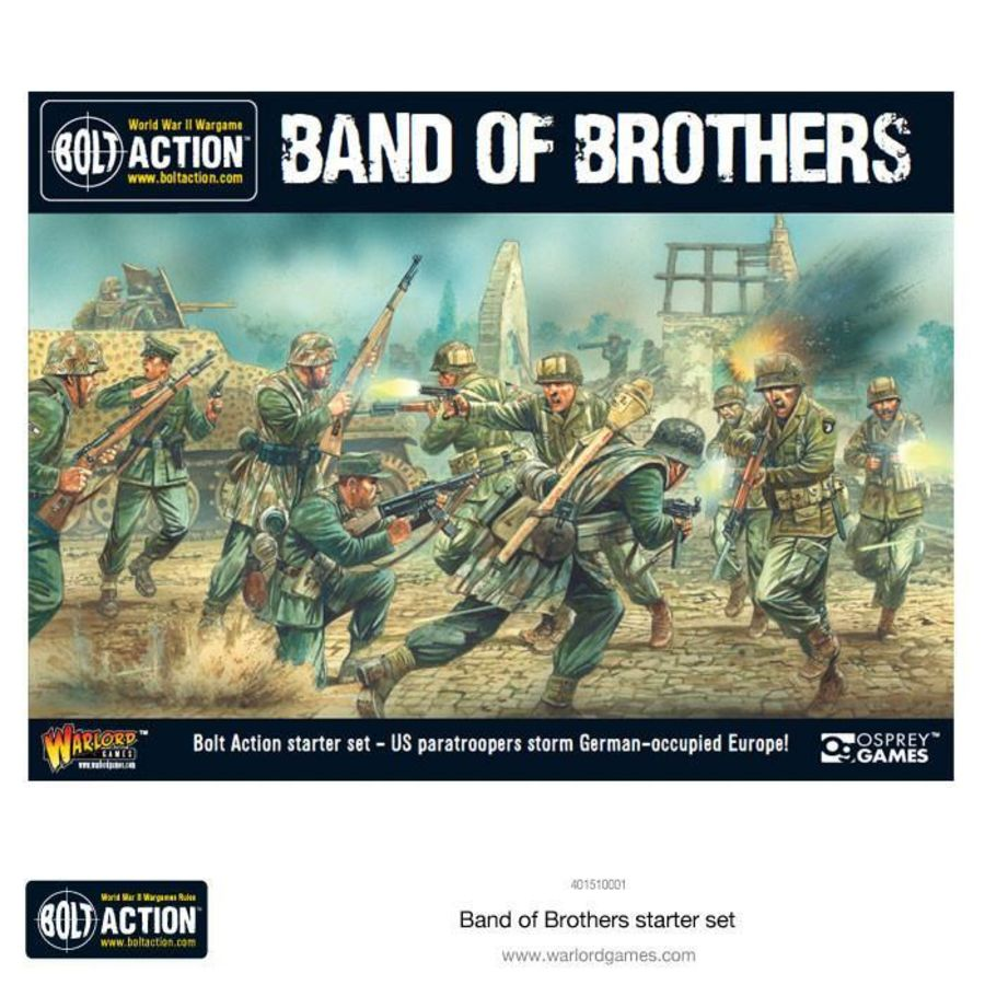 Band Of Brothers - Bolt Action Starter Set