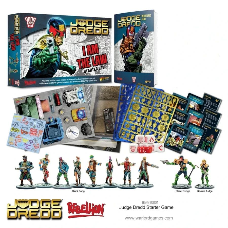 Judge Dredd Starter Set