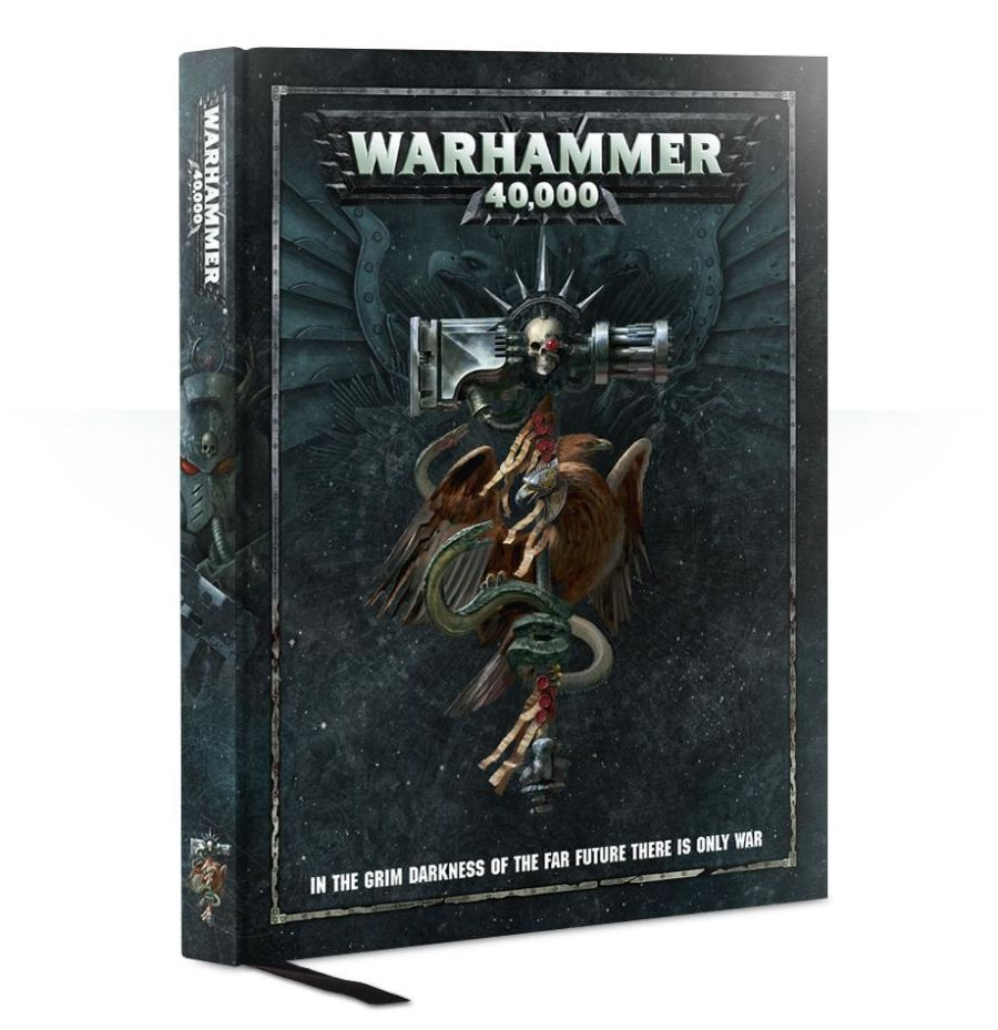 Warhammer 40000 Rulebook - 8th Ed