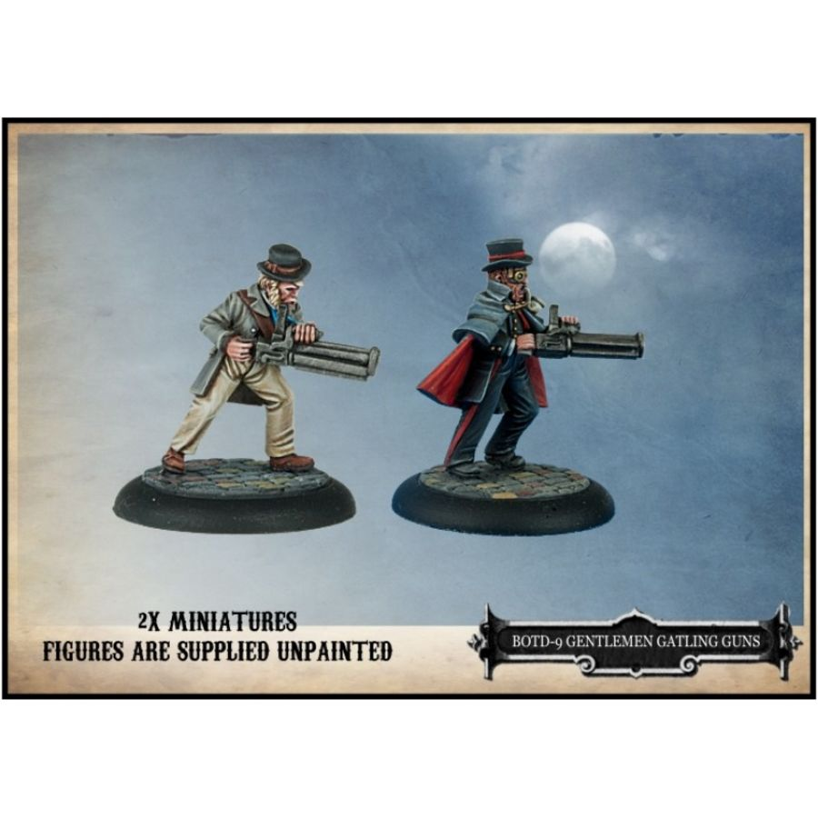 Gentlemen with Gatling Guns